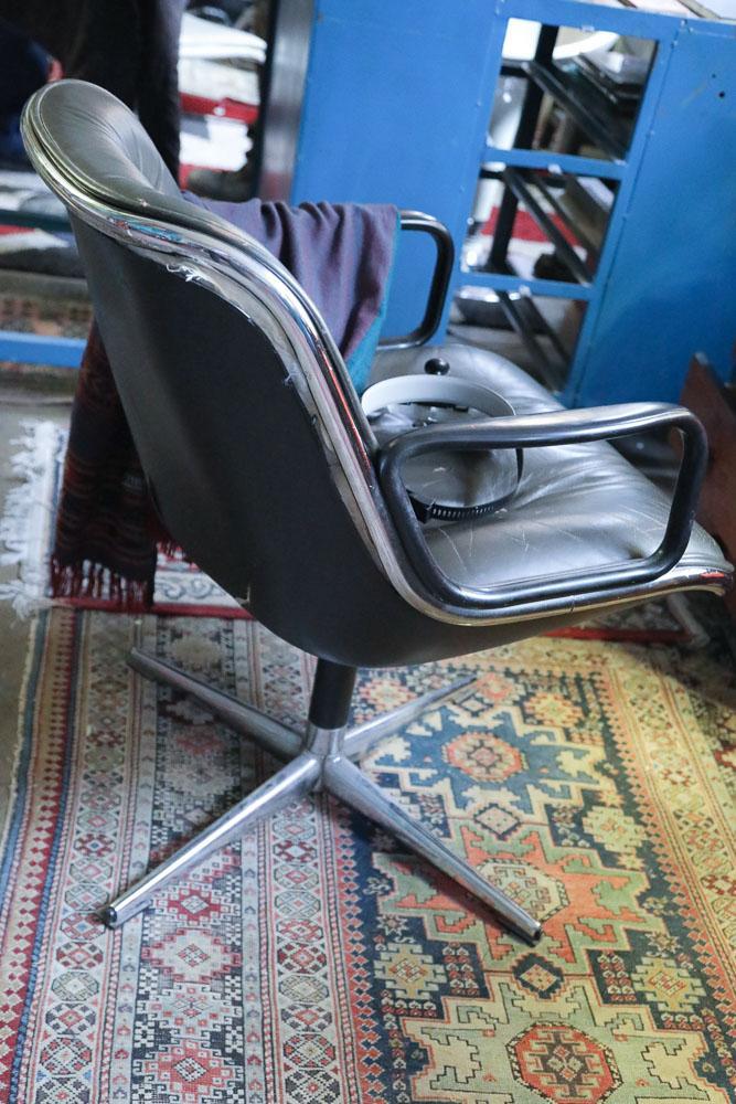 Chaise Pollock Vintage Atelier DOC David Daim Paris