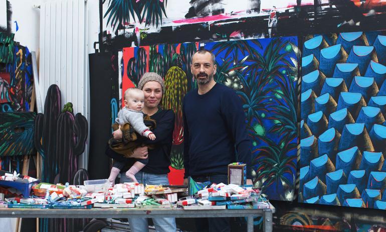 Julien Colombier et Audrey Guimard, Paola 10 mois