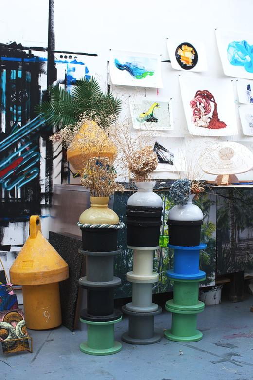 Vases Poteries Atelier Julien Colombier et Audrey Guimard Bagnolet Paris