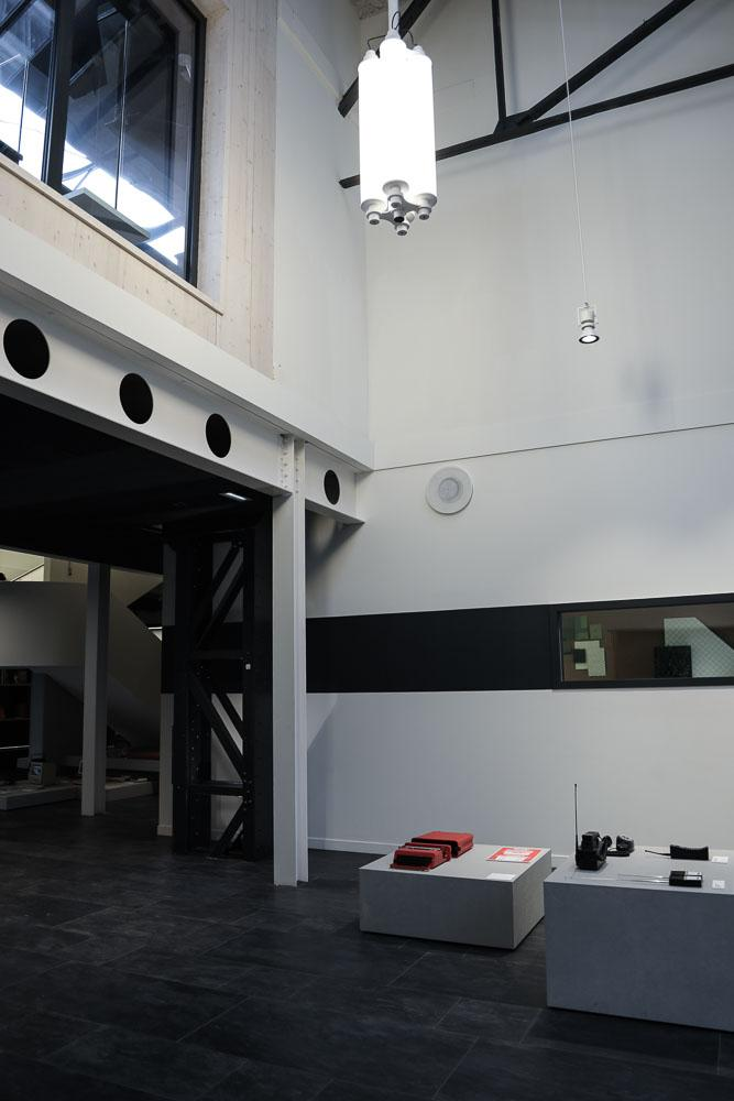 Hall Agence Saguez and Partners Saint Ouen