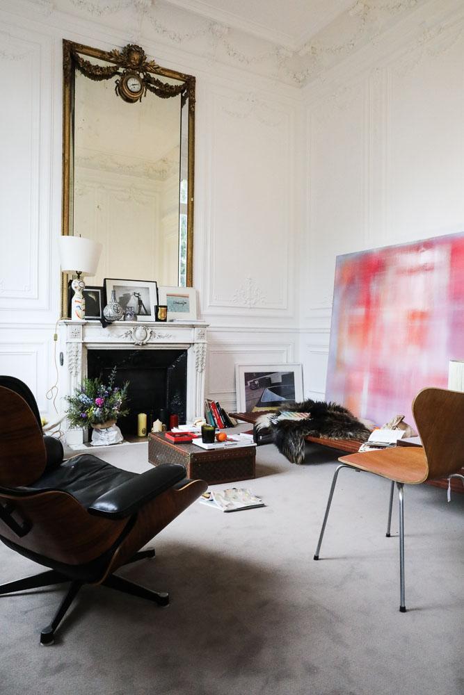 Salon Hôtel particulier Paris Coulisses vente NOW Sotheby's Curation The Socialite Family