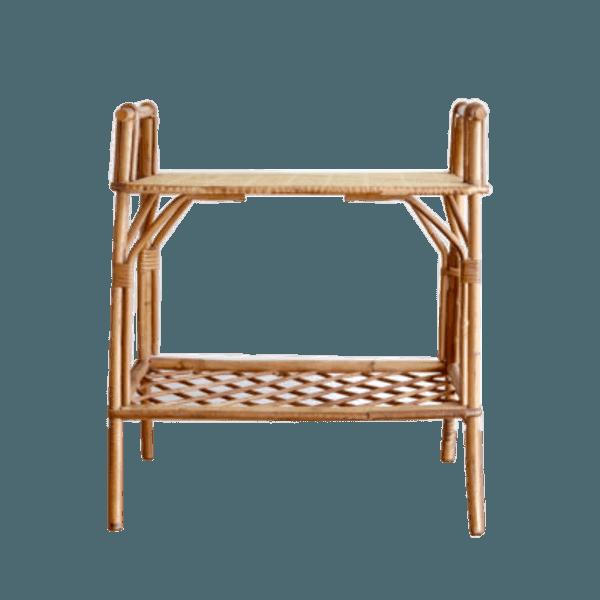 table de chevet en osier the socialite family. Black Bedroom Furniture Sets. Home Design Ideas