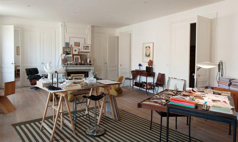Salon Bureau Artiste Gérard Puvis Atelier Lyon