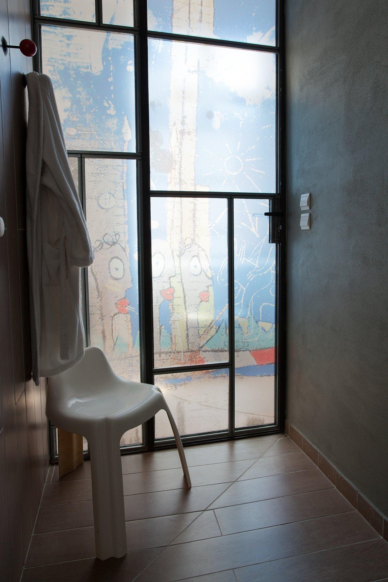 Entrée atelier Artiste Gérard Puvis Atelier Lyon