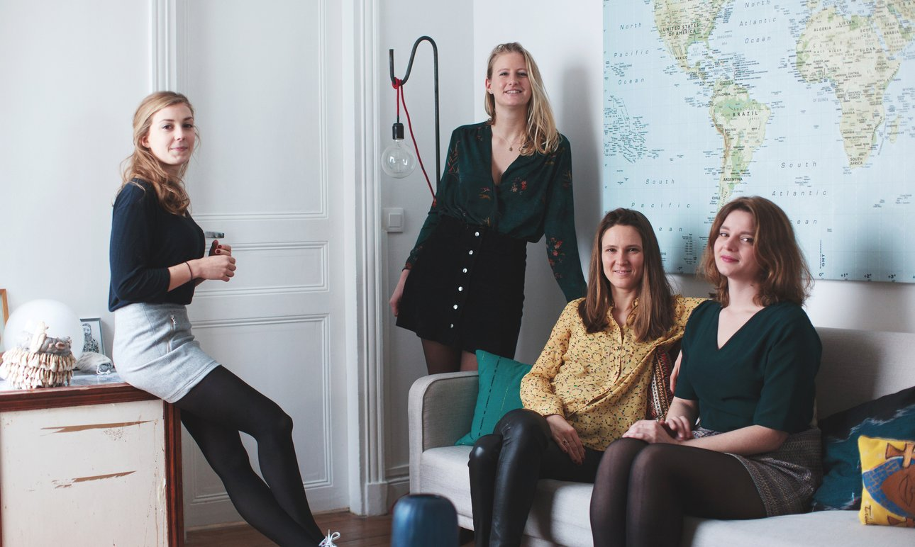 French Curiosity Club, <br> dynamiser les esprits féminins