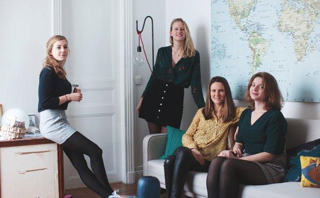 French Curiosity Club, <br> Dynamising Female Minds