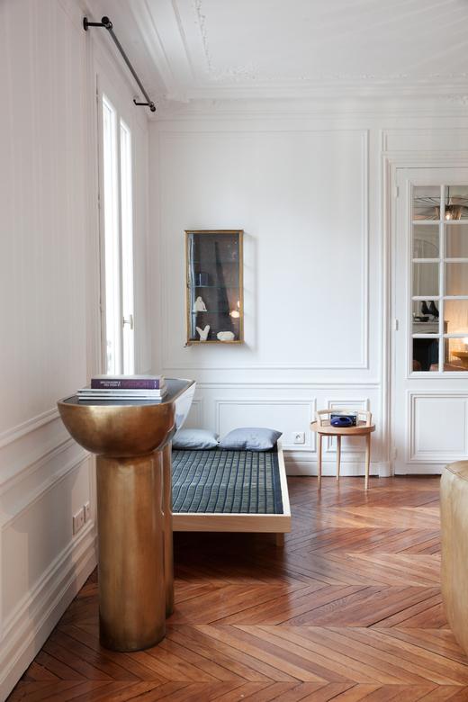 Salon Guillaume Garnier Appartement Paris Créateur Studio Garnier et Linker