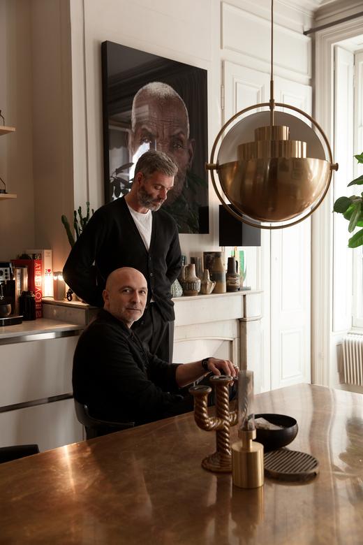 Portrait Maison Hand Créateurs Emmanuel Martin et Stéphane Garotin Lyon