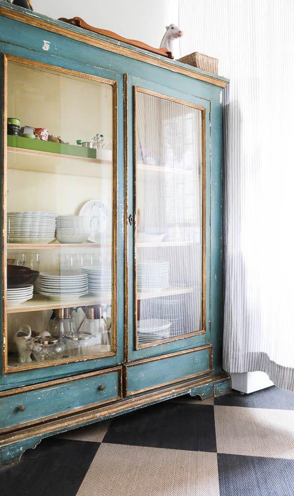 Armoire salon vaisselier Marie-Louise Scio Rome