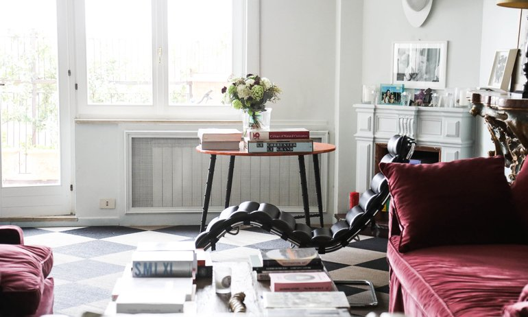 Salon Appartement Marie-Louise Scio Rome