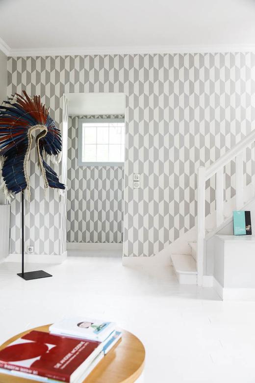 Escaliers Entrée Maison Le Vésinet Marine Garnier
