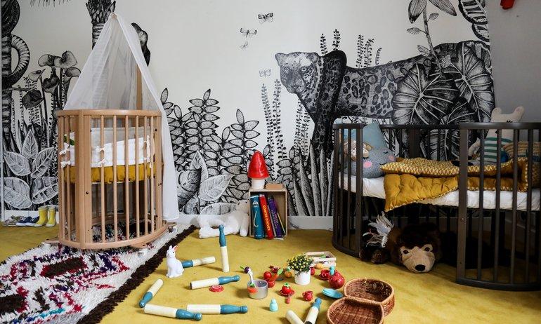 Une chambre pour deux enfants