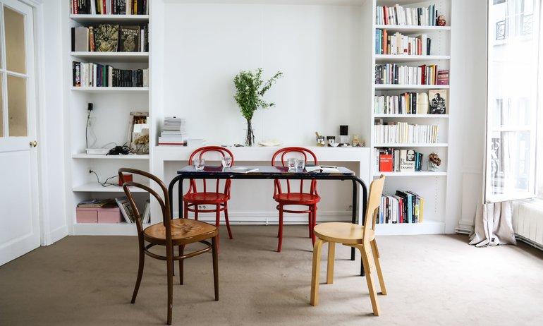 Salle à manger Appartement Paris Haydée Touitou Sofia Nebiolo et Sarah de Mavaleix