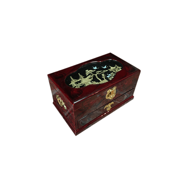 Chinese Jewelry Box The Socialite Family