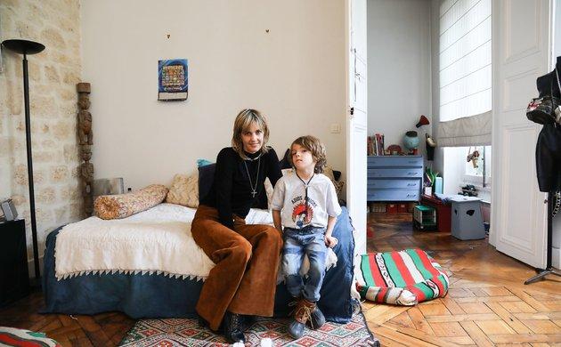 Delphine Delafon et Camille 6 ans
