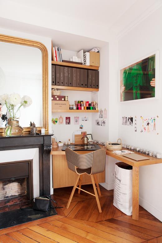 Bureau Bbuble Appartement Duplex Paris Nayla Voillemot et Romain