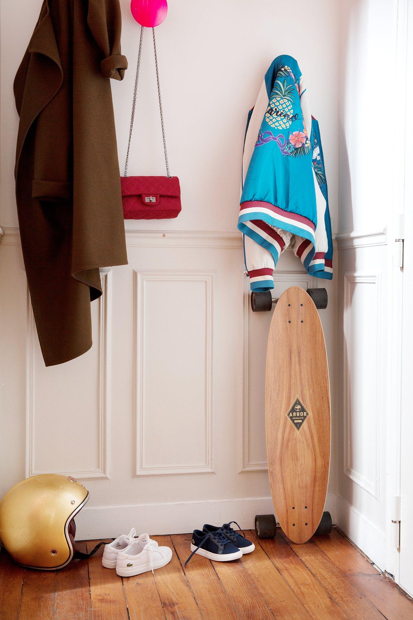 Entrée Appartement Duplex Longboard Paris Nayla Voillemot et Romain