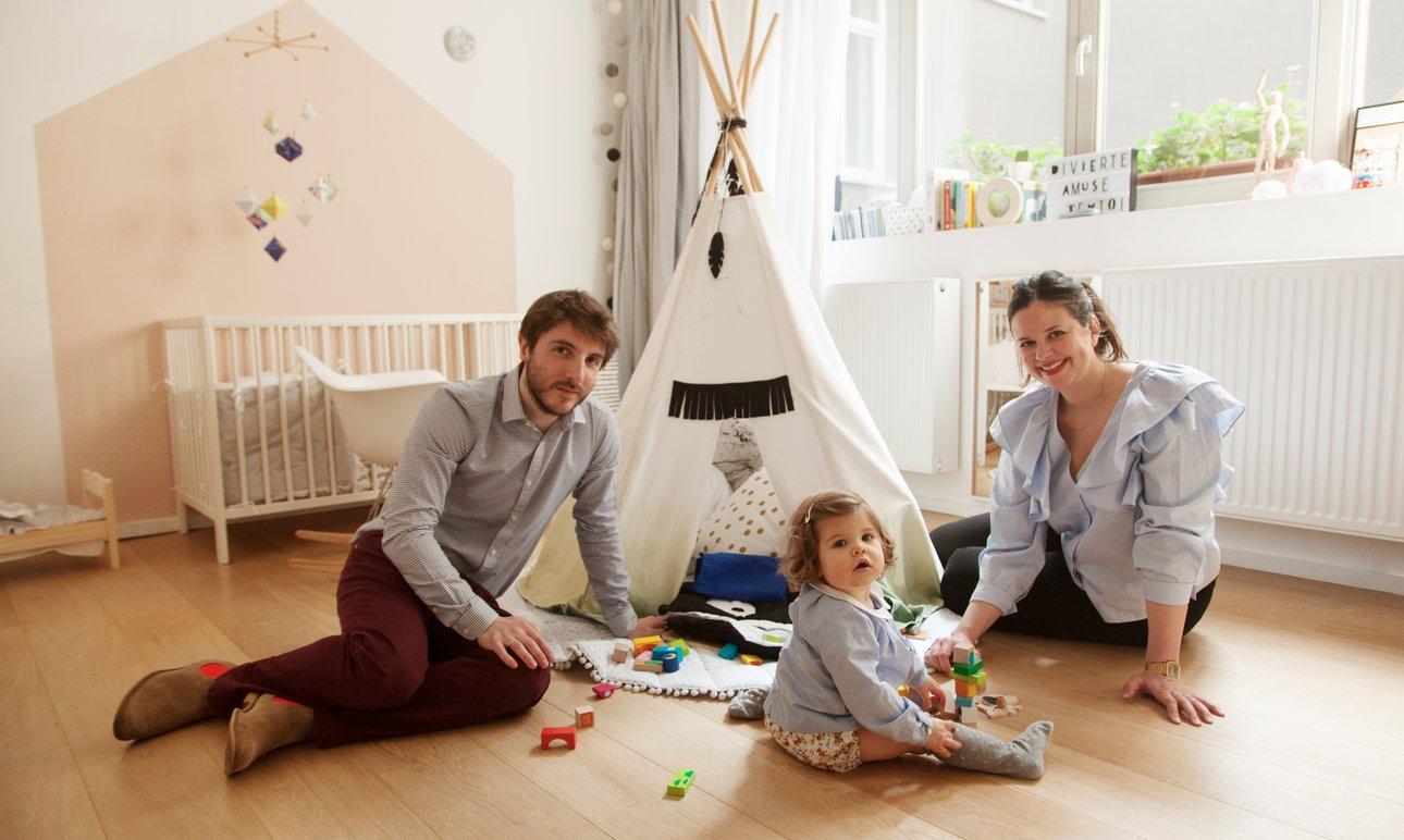 Laura Fernandez Ruiz et Nicolas, <br> Olivia 8 mois