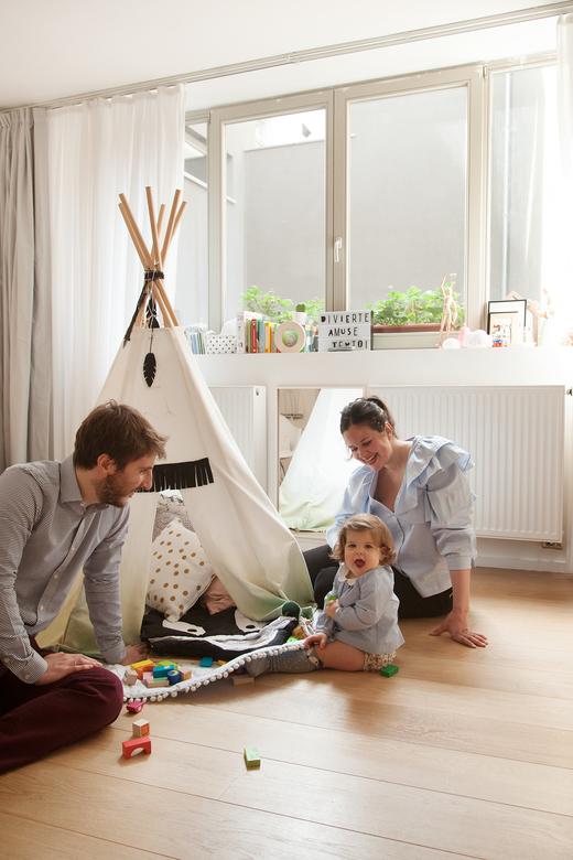 Portrait famille Architecte Laura Ruiz Fernandez Bruxelles