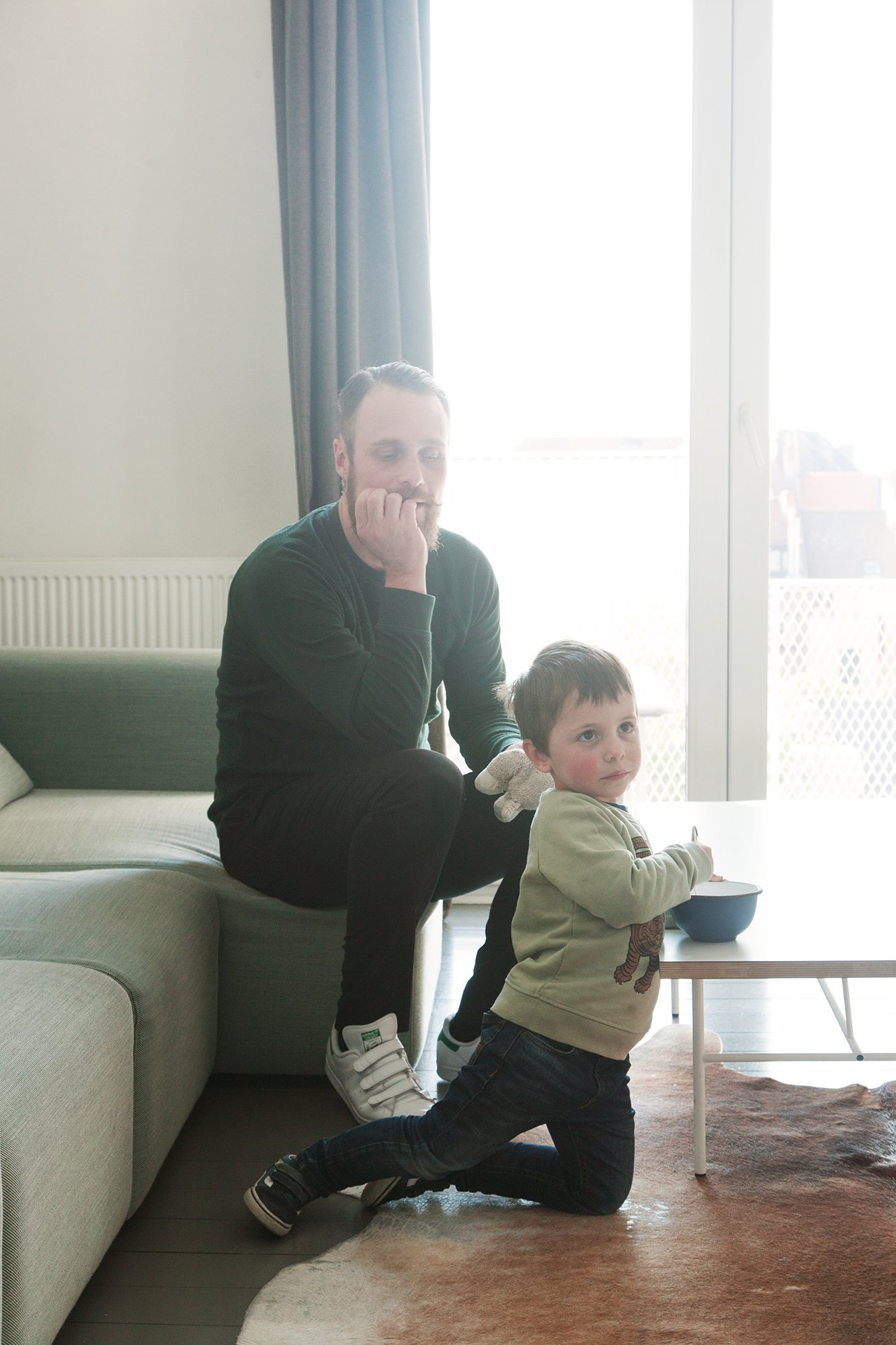 Kelly Claessens and Benoît Deneufbourg, <br> Leon 4 years old