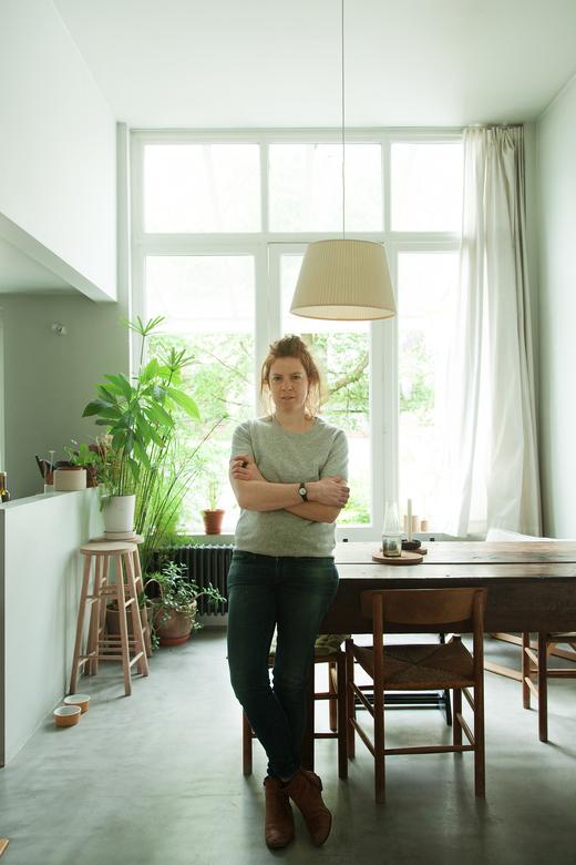 Portrait Marina Bautier Designer Bruxelles