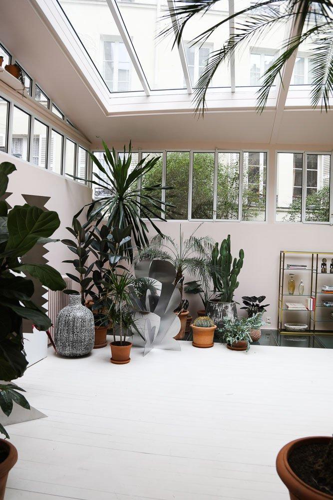 Salon Jardin d'hiver Plantes Giacomo Balla Fleurs Debeaulieu La Villa Rose Paris