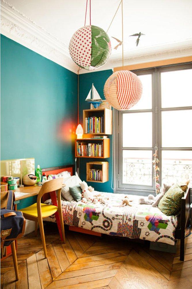 Une chambre d\'enfant colorée - The Socialite Family