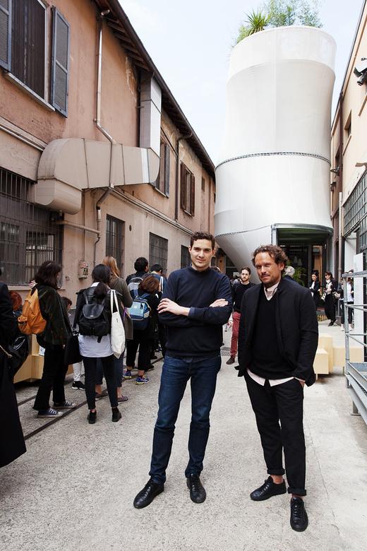 Breathe Mini Living Portrait Architecte SO-IL Salone del Mobile Milan 2017