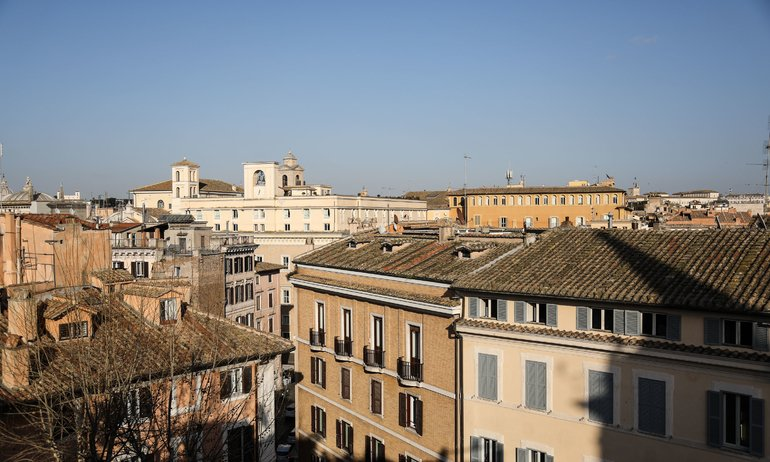 Vue Hôtel Raphël Relais Châteaux Un week-end à Rome