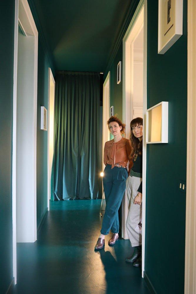 The Visit Studiopepe Portrait Arianna Lelli Mami et Chiara Di Pinto