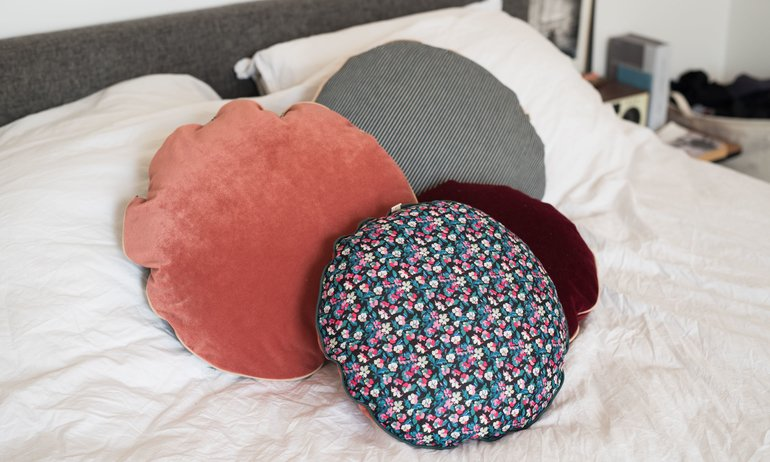 The Renaissance of the Round Cushion