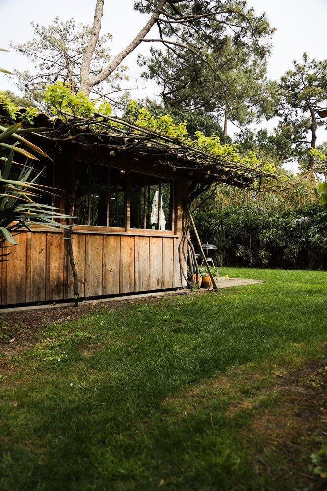 Jardin Maison Hadrien Bartherotte Cap Ferret