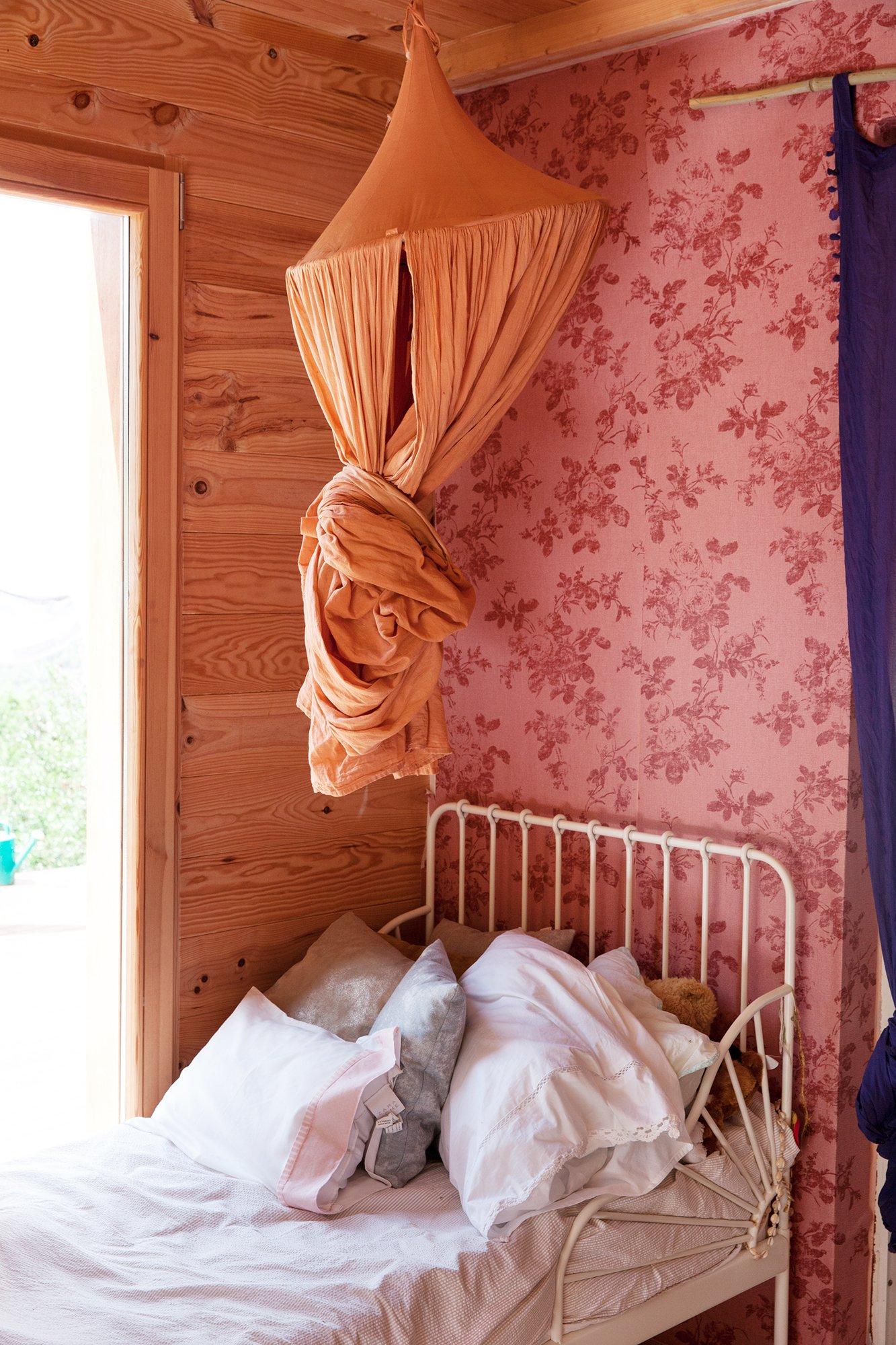 Chambre enfant Focus lit et ciel de lit Manuela Sosa Créatrice Gang and the Wool