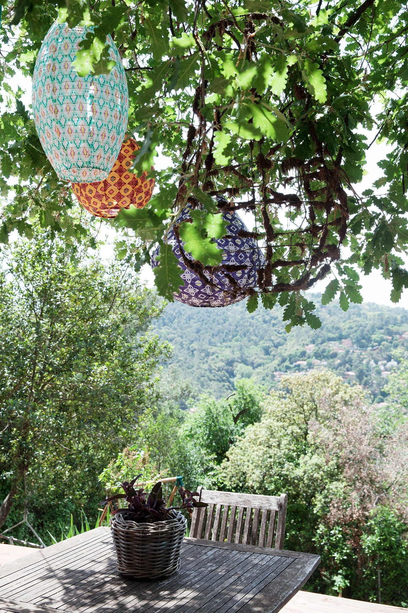 Vue jardin Manuela Sosa Créatrice Gang and the Wool Barcelone