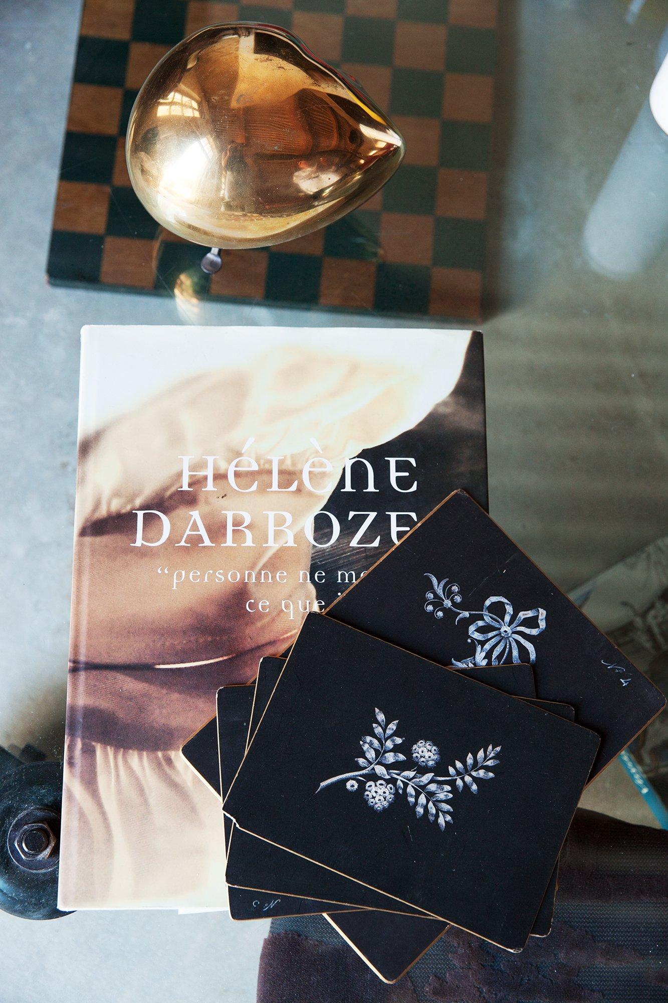 Livre Hélène Darroze Salon Isabelle Masson Créatrice Sabé Masson