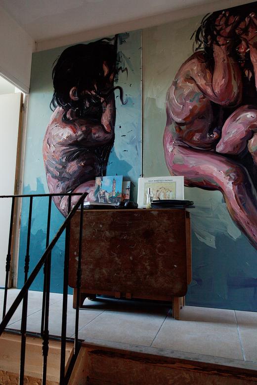 Peinture Isabelle Masson Créatrice Sabé Masson