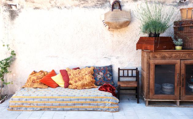 Canapé extérieur Isabelle Masson Créatrice Sabé Masson