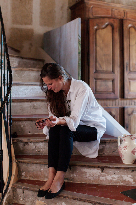 Portrait Isabelle Masson Créatrice Sabé Masson