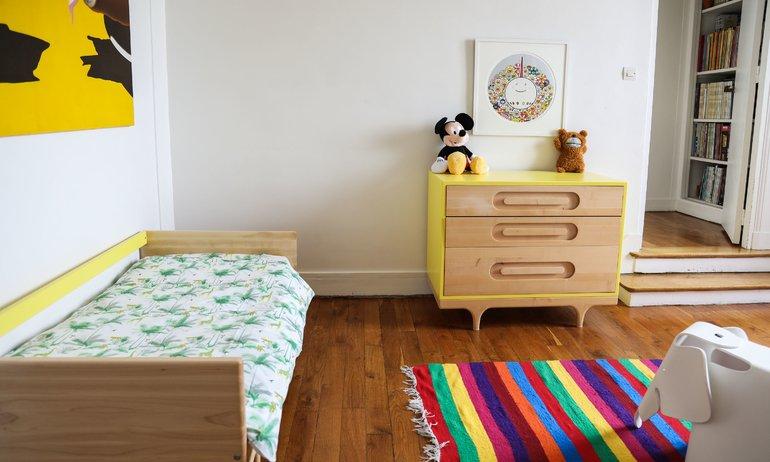 Chambre d'enfant Appartement Ingrid Brochard Paris