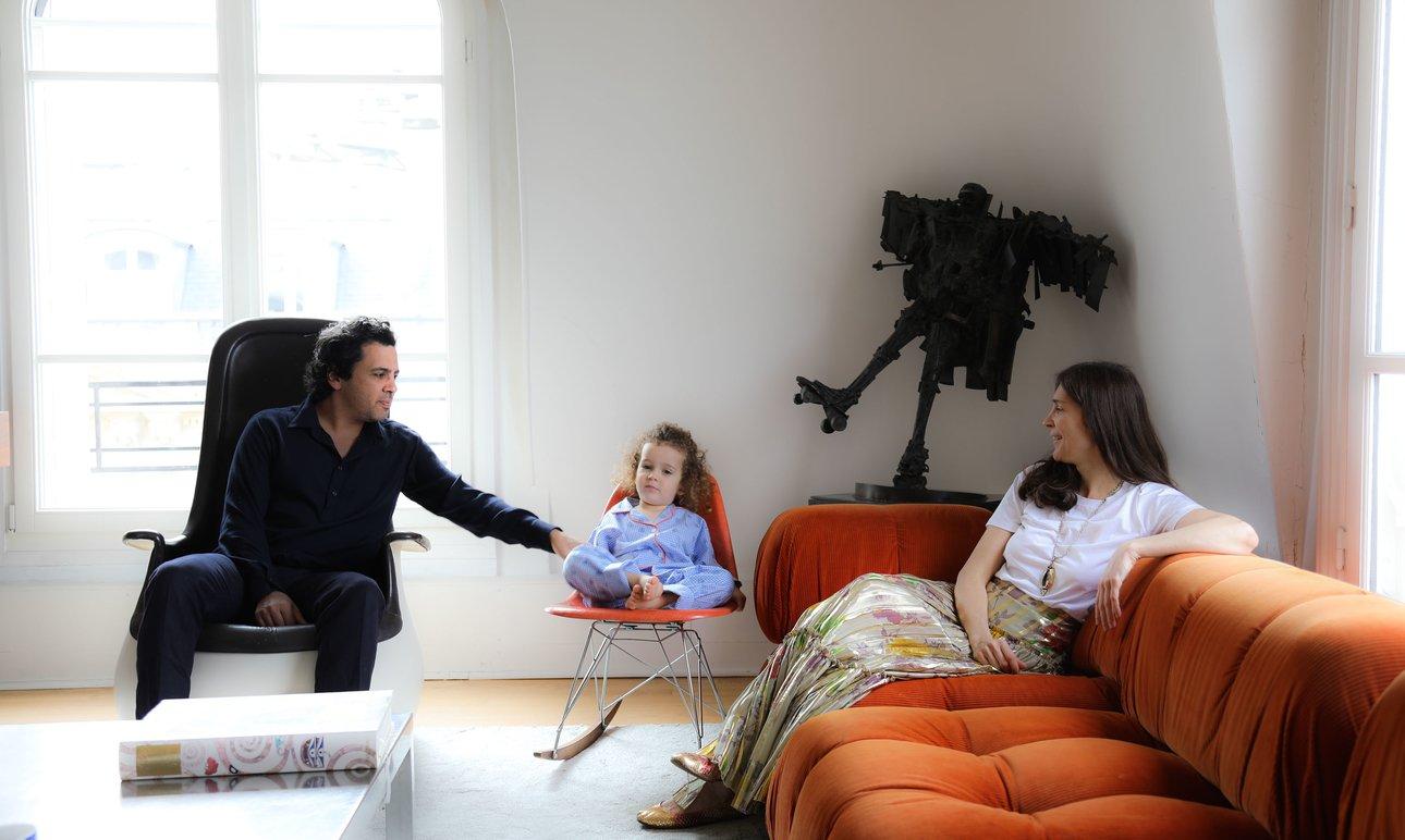 Famille Ingrid Brochard Salon Appartement Paris