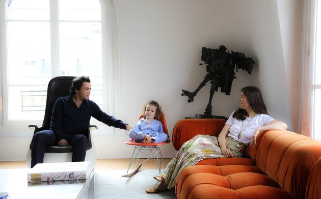 Famille Ingrid Brochard Salon Appartement Paris