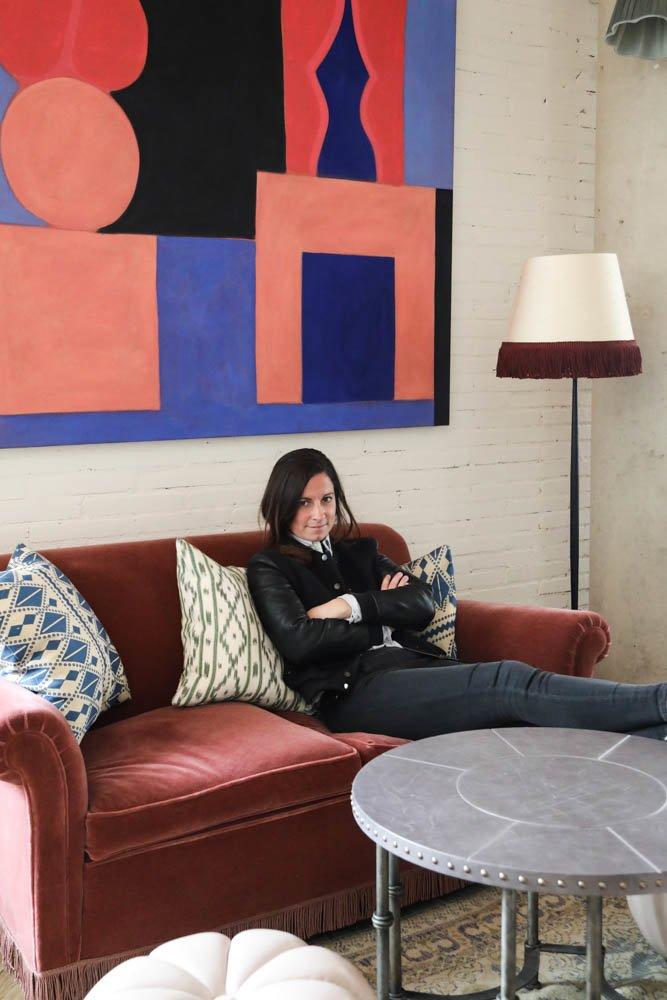 Portrait Hortense Guiraud Créatrice MYBARRIO Soho House Barcelona