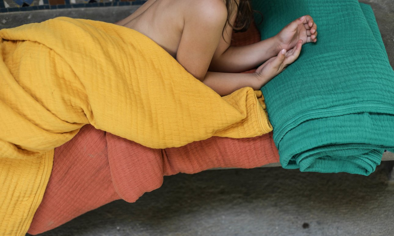 Summer Throws Designed by <br> The Socialite Family