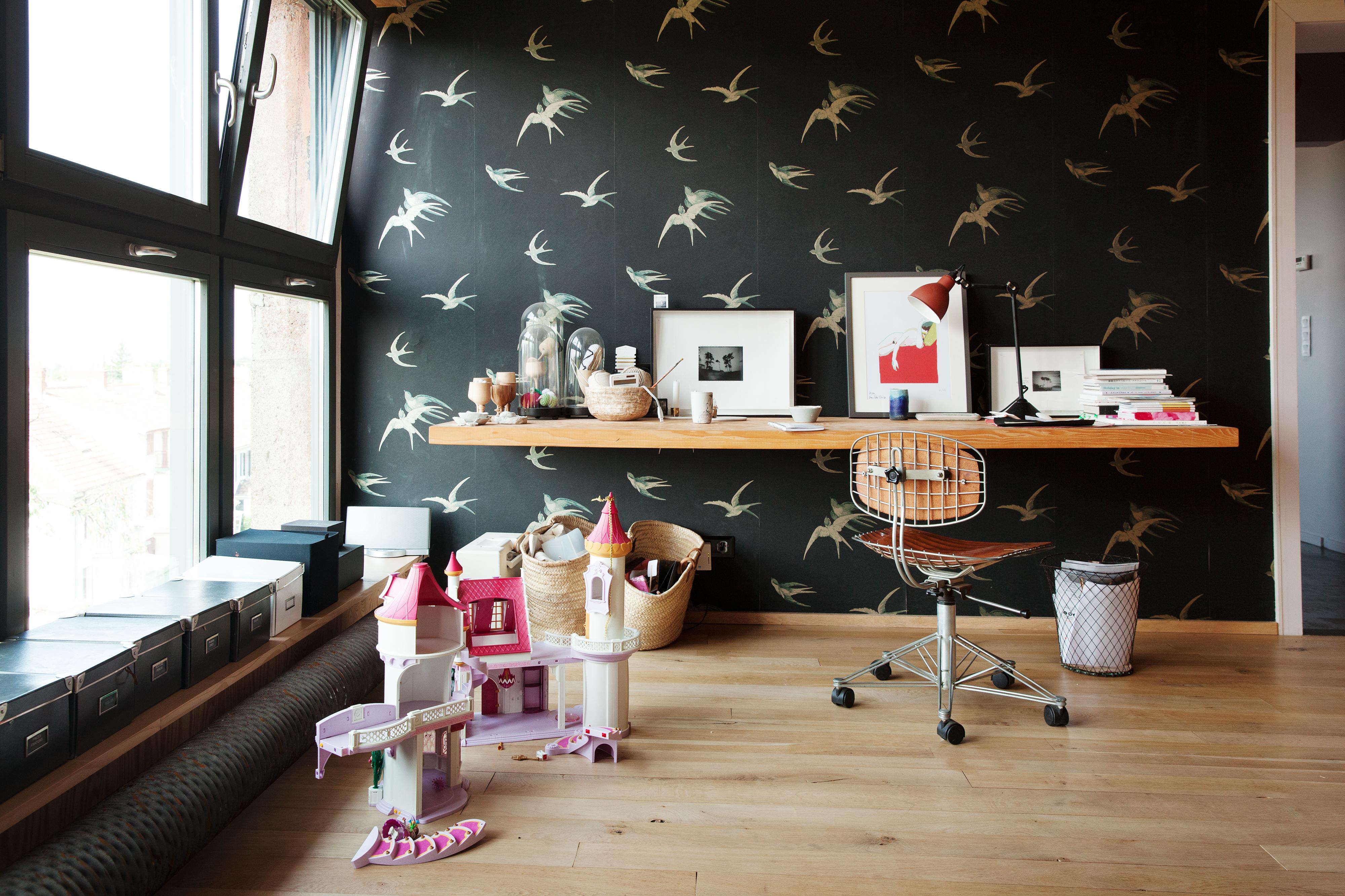 Chambre d'enfant bureau – Anne Hubert