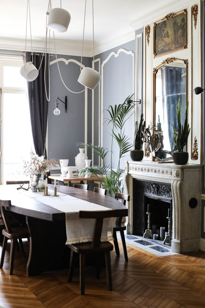 10 tables pour salles manger the socialite family. Black Bedroom Furniture Sets. Home Design Ideas