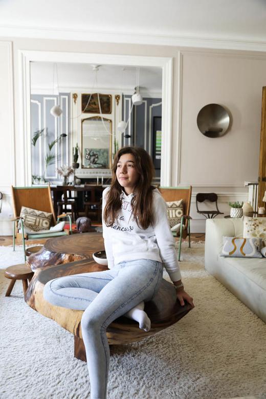 Salon Fille Céline Faraud Appartement Paris