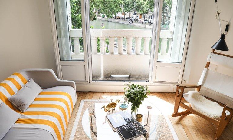 Salon Émilie Luc Duc Appartement Paris