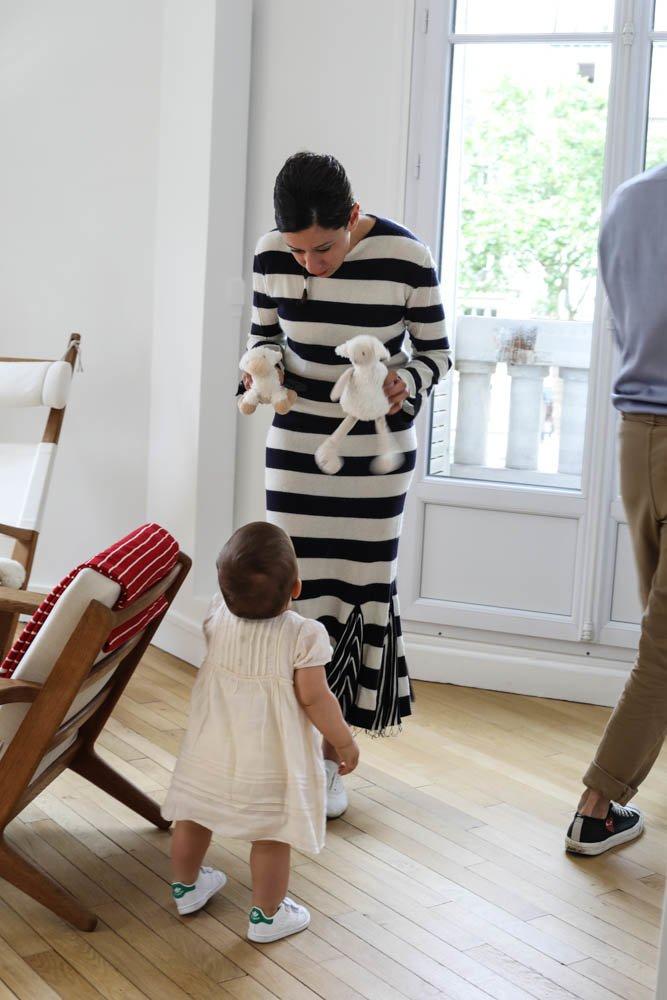 Émilie Luc-Duc and Alexis, <br> Greta 18 months old