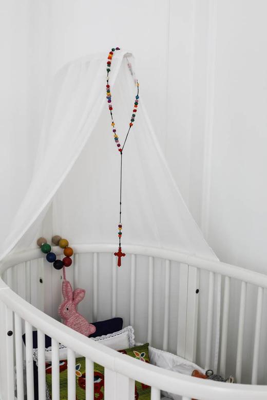 Lit Stokke Chambre d'enfant Émilie Luc Duc Appartement Paris