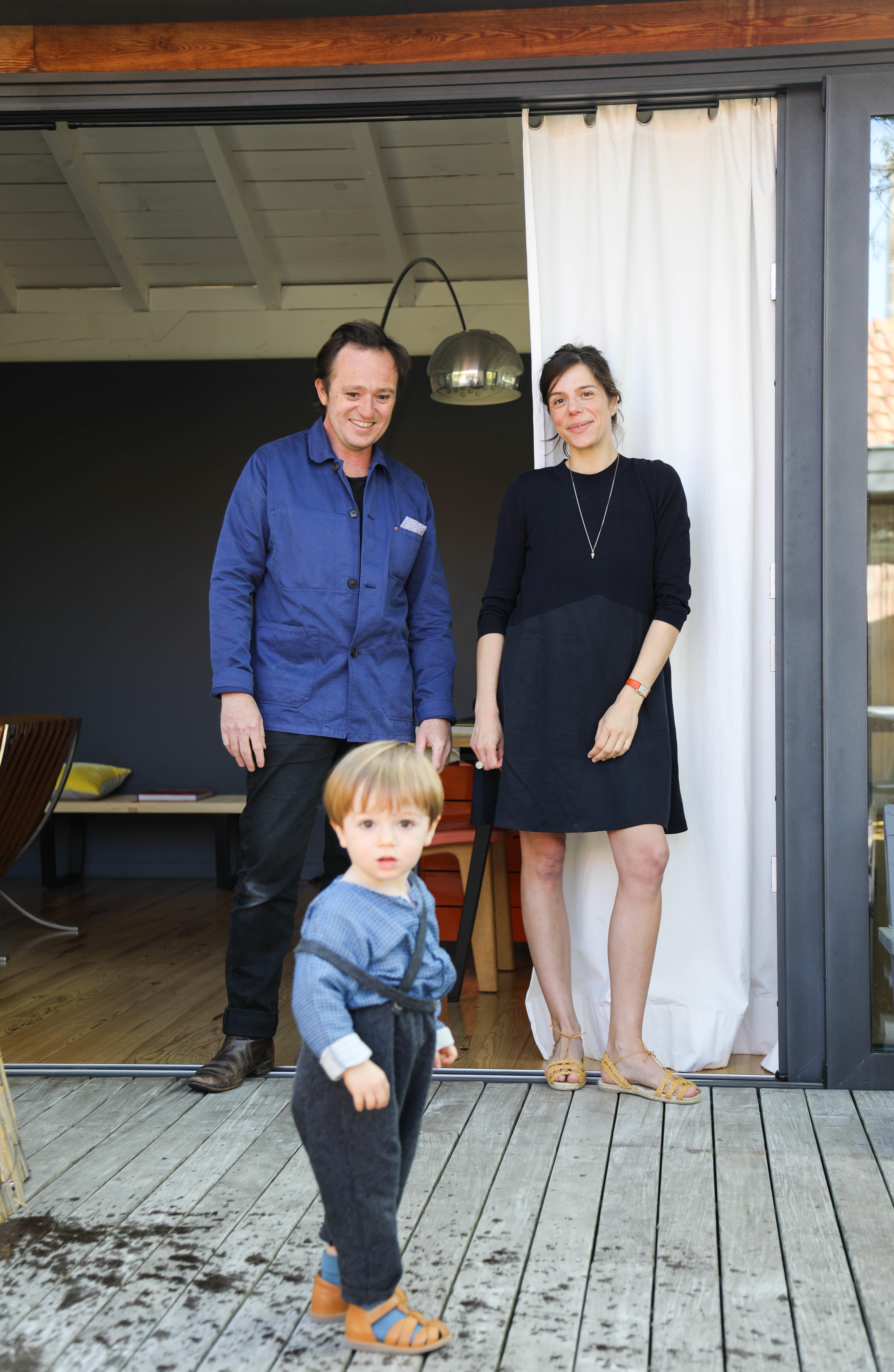 Portrait famille Marina Berger Fondatrice Océopin